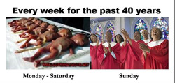 Every week for the past 40 years