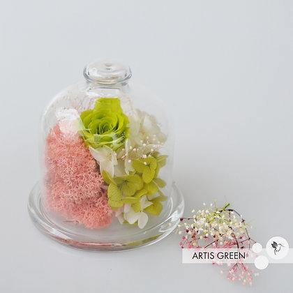 Мини-колба с розой «Unusual flower»