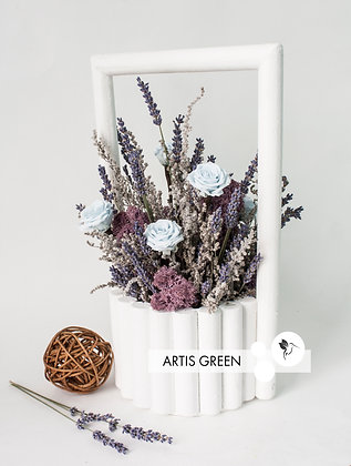 Lavender Sky. Настольная композиция