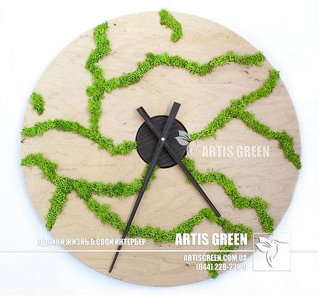 Лесные узоры (часы)