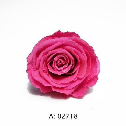Роза розовая Ø5-6 см большая Pink, 1 бутон А: 02718