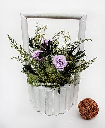 Violet Roses. Настольная композиция