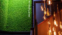 Масштабные проекты - знаем, можем, умеем. Стена из мха  10 м. кв. в Ресторане «Argentina Grill»