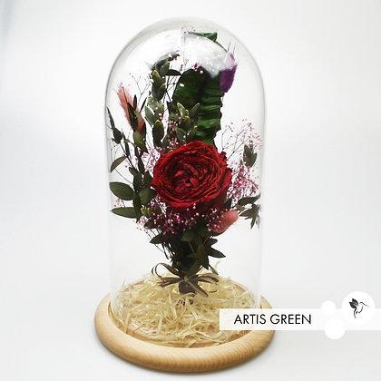 Роза в колбе «Red bouquet»