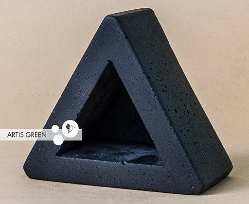 Бетонный горшочек «Треугольник»