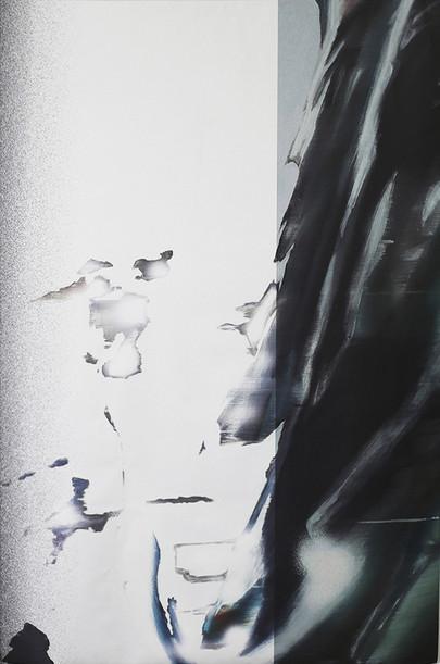 Cruising Between Green and Memory  / print / Susanne Schwieter