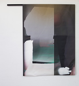 the Curtain / print / Susanne Schwieter