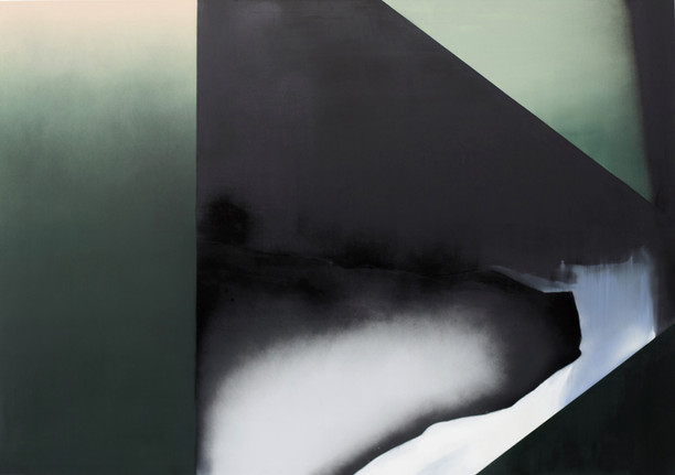 Never Been There / painting / Susanne Schwieter