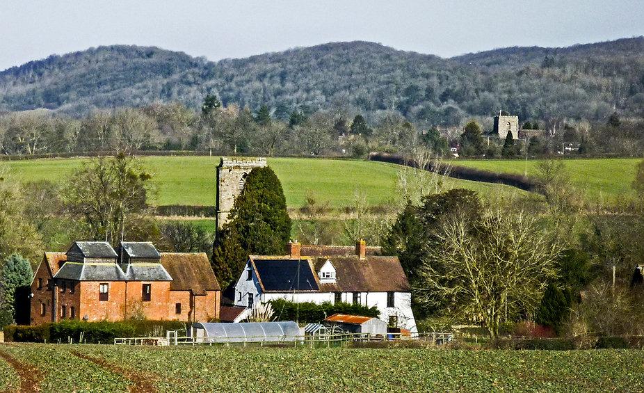 Church Farm with Mathon and Cradley Chur