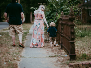 Family of Four Maternity Session | NC Photographer