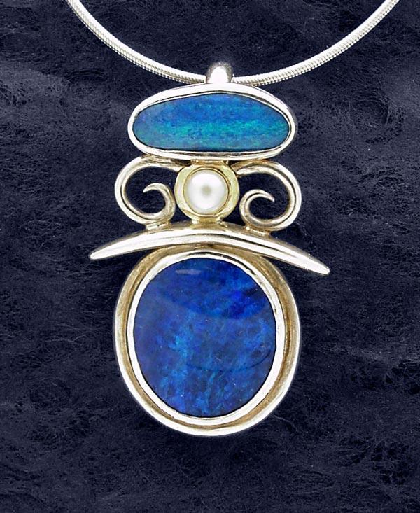 Opal Pearl pendant