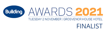 Building Awards finalist logo - horizont