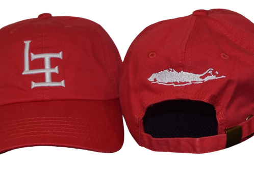 The Original Long Island Dad Hat -RED