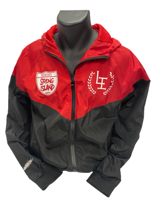 THE ORIGINAL LI STRONG ISLAND FALL JACKET RED / BLACK