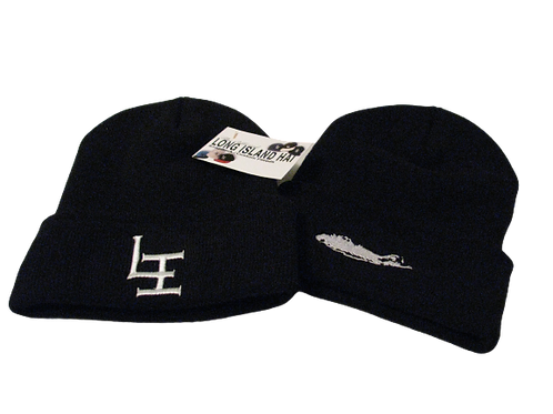 Official Long Island Winter Cap BLK
