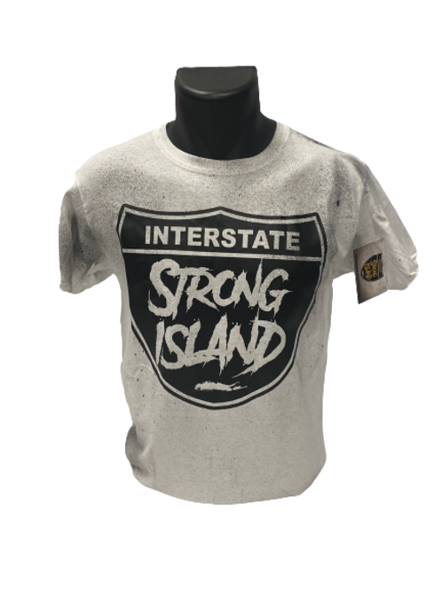 STRONG ISLAND VINTAGE T-Shirts - white
