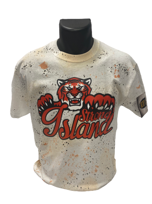 STRONG ISLAND VINTAGE T-Shirts - tiger