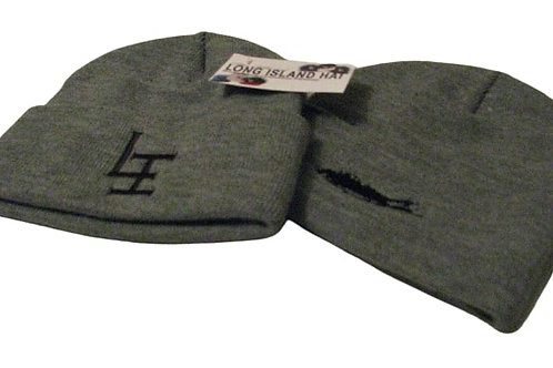 Official Long Island Beanie /Grey