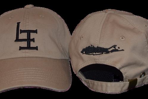 The Original Long Island Dad Hat -TAN