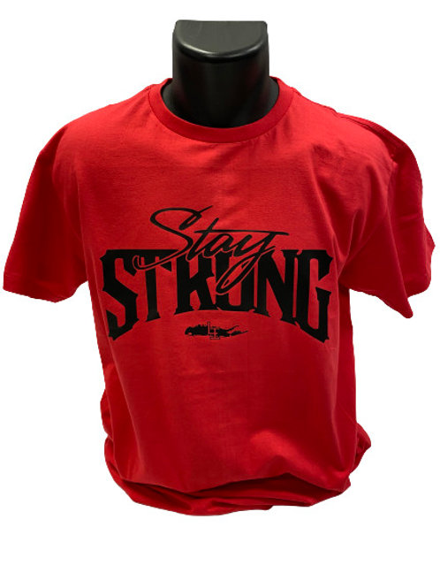 STAY STRONG T-SHIRTS - RED