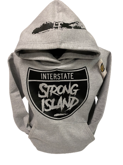 OFFICIAL STRONG ISLAND INTERSTATE HOODY grey