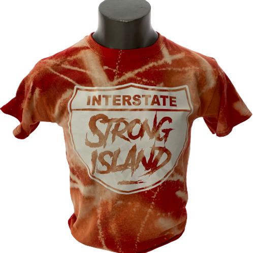 STRONG ISLAND VINTAGE T-Shirts -RED