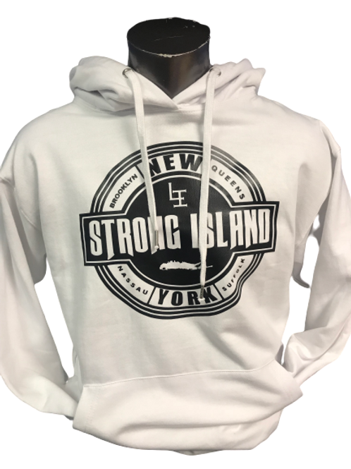 OFFICIAL  LONG ISLAND HOODYS ( WHITE )