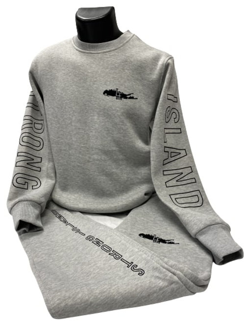 Strong Long Island Crew Sweat suit