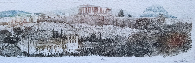 Panoramique Athènes