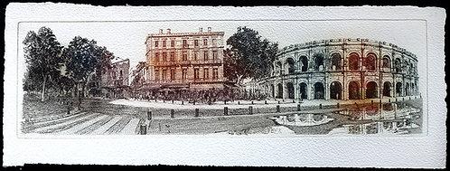 Panoramique Nîmes