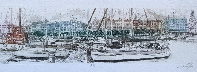 Panoramique Coruña