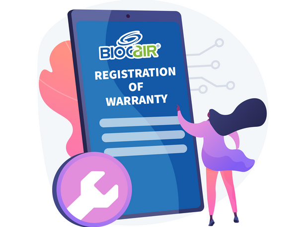 BioCair Registration of Warranty