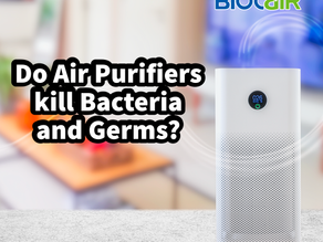 Do Air Purifiers kill Bacteria and Germs?