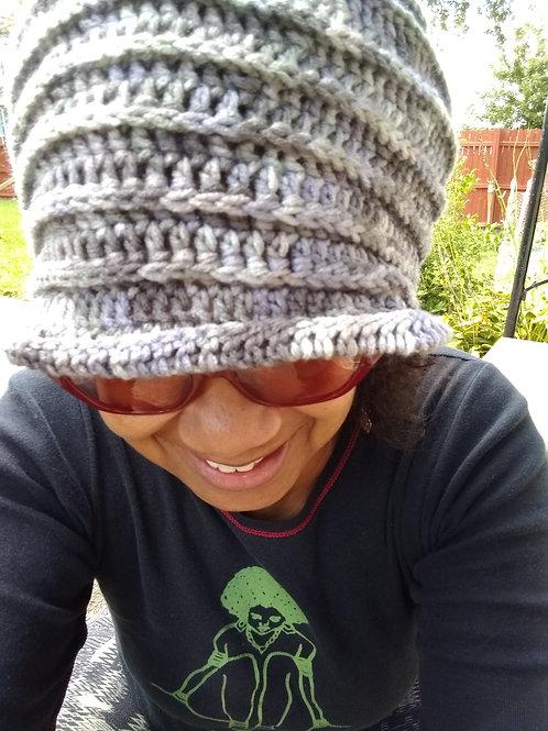 Shades of Grey ridged hat