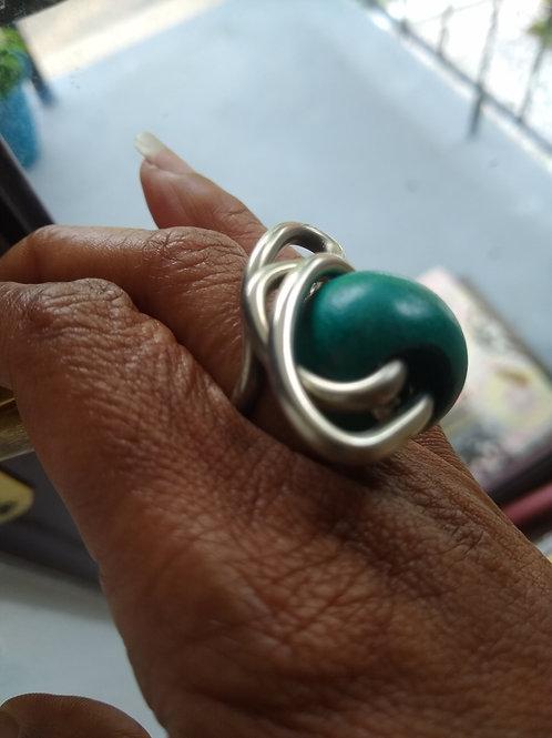 Green wood solder ring