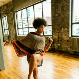 Poncho/Wrap Skirt