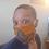 Thumbnail: Mask #1G Orangish Print