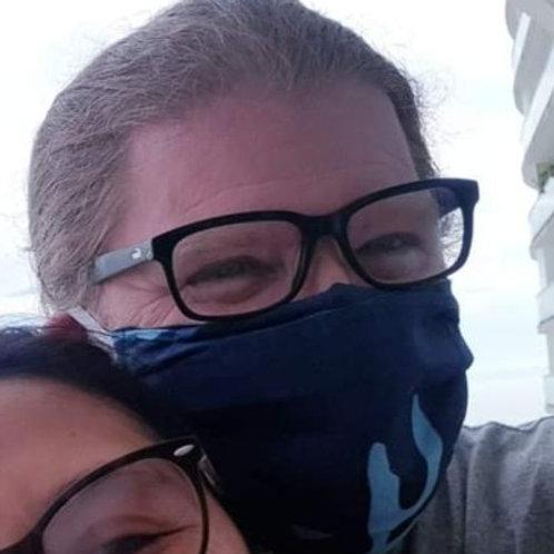 Mask #1L Blue Camo