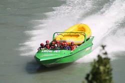 Return Jetboat ride Rafting