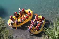 School group Amuri Rafting