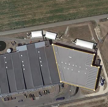 Centre de valorisation des déchets organiques : 5000 m² scannés en 4 h - 100 stations