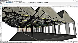 Modèle 3D BIM