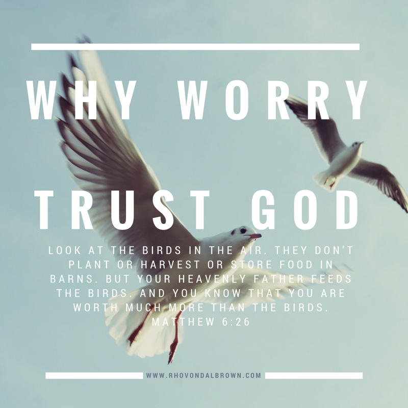 Why Worry? Pray.