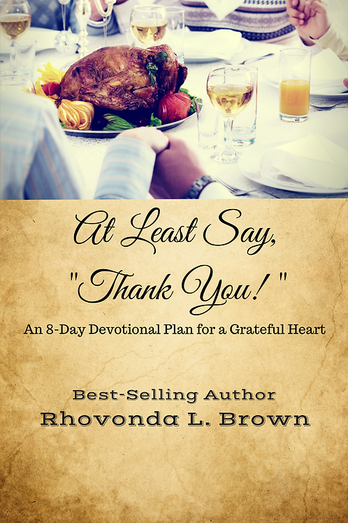 "At Least Say, ""Thank You!"" (Paperback-Autographed)"