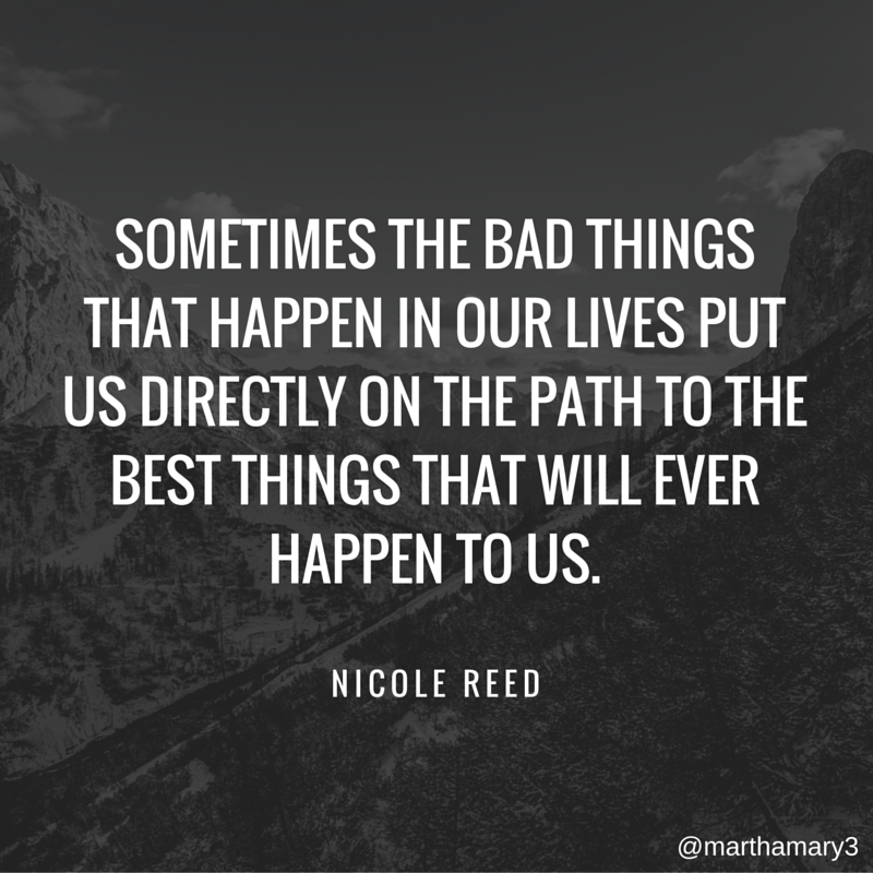 Sometimes bad things happen. Pray.