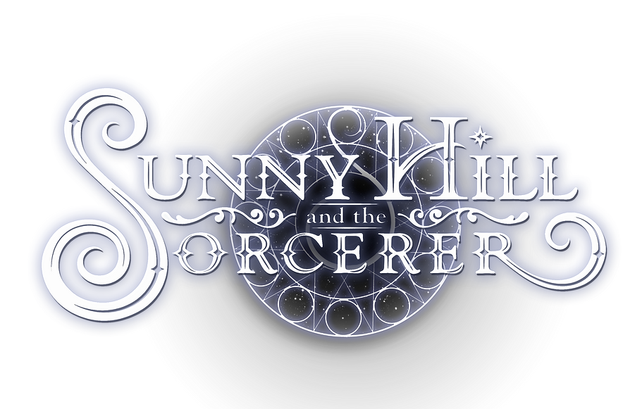 Sunny Hill and the Sorcerer Title Design by Chandra Habein