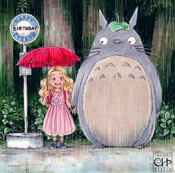 Evelyn and Totoro