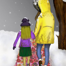 """""""Walking in the snow..."""""""