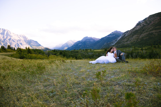 Redo Wedding in Waterton