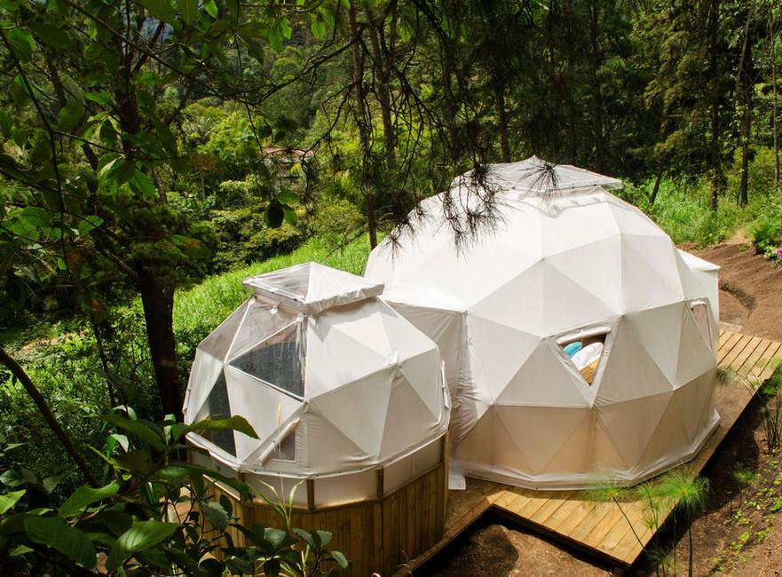 Titania & Triton Domes